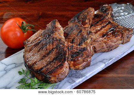 Thick Pork Chops