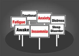 Insomnia signs