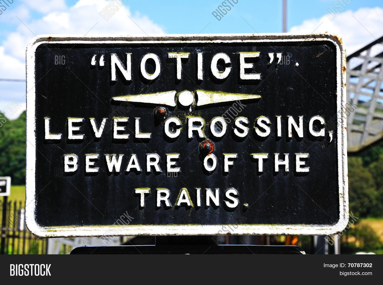 Old Level Crossing Image & Photo (Free Trial) | Bigstock