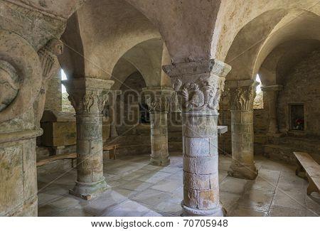 Crypt Of Church Parise Le Chatel