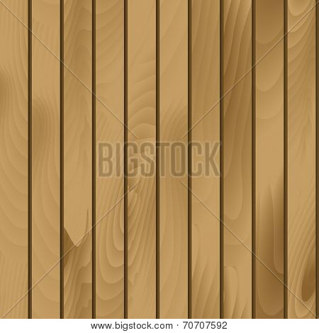 Vector Seamless Wood Plank Texture Pattern Background poster