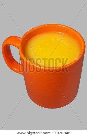 Orange Mug And Juice