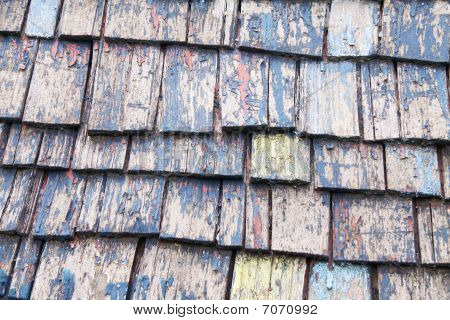 Wooden Slated Roof Top