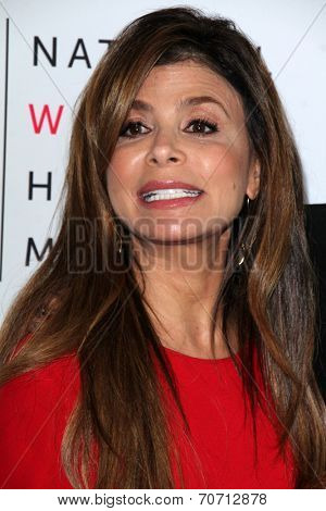 LOS ANGELES - AUG 23:  Paula Abdul at the 3rd Annual Women Making History Brunch at Skirball Center on August 23, 2014 in Los Angeles, CA