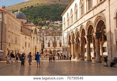 Old Town Of Dubrovnik,croatia