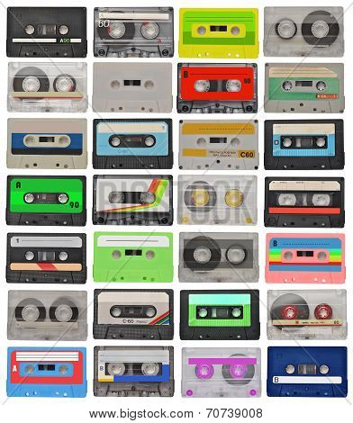 Set Of Cassette Tapes