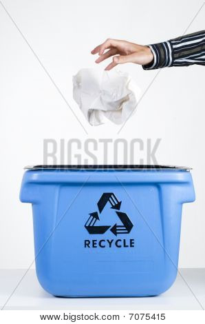 Paper  And Recycling Box