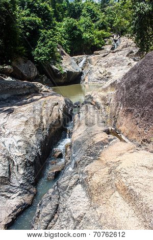 Stream at Koh Phangan island