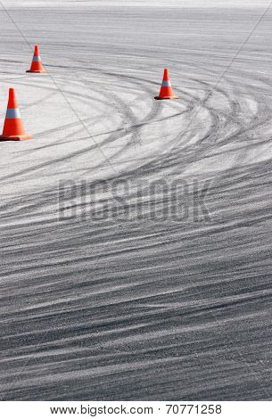 Tyre Track Detail