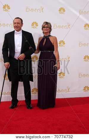 LOS ANGELES - AUG 25:  Kevin Spacey at the 2014 Primetime Emmy Awards - Arrivals at Nokia Theater at LA Live on August 25, 2014 in Los Angeles, CA