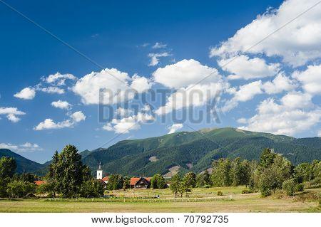 Village In Summers
