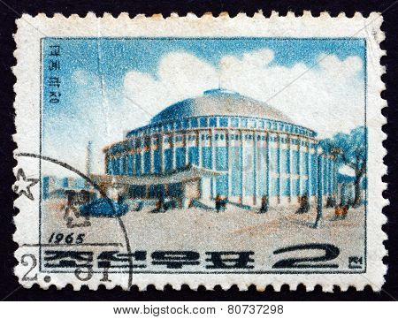 Postage Stamp North Korea 1965 Circus, Pyongyang