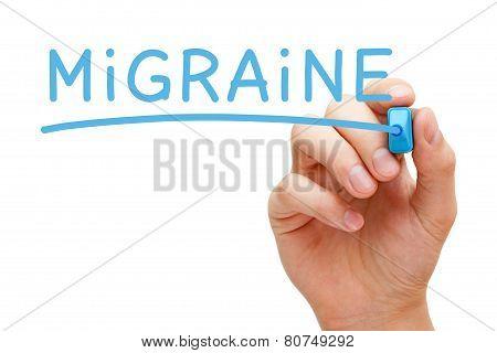 Migraine Blue Marker