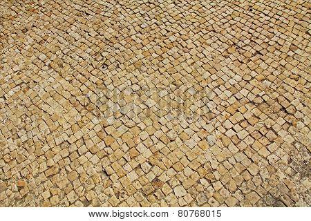 Mosaic Floor in Caesarea Maritima National Park