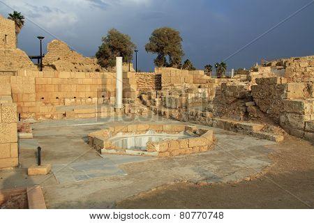 Governors Bathhouse Caesarea Maritima National Park