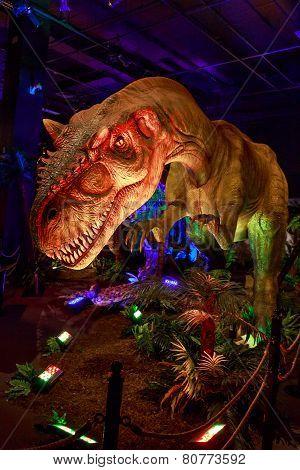 Dinasours Unearthed - Allosaurus