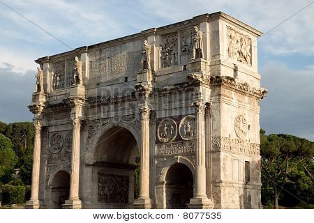 Arch of Constantine at the Coliseum