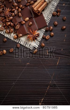 Chocolate With Coffee And Spices