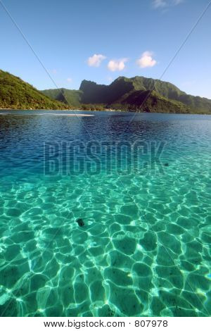 two color crystal clear lagoon