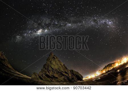 Gold Coast Currumbin Rock Milkyway