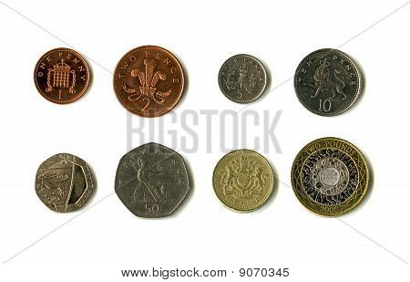 British Coins (Sterling)