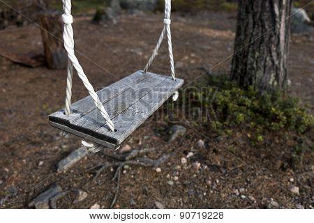 Vintage Wooden Swing