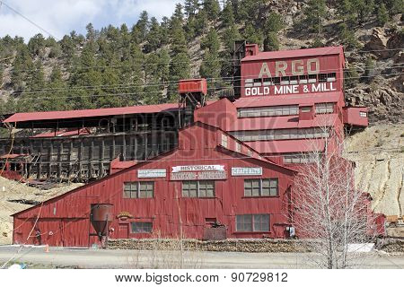 Historical Argo Gold Mine And Mill
