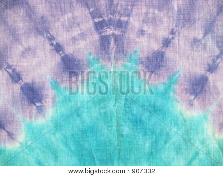 Aqua Purple Arch Tie-Dye Background