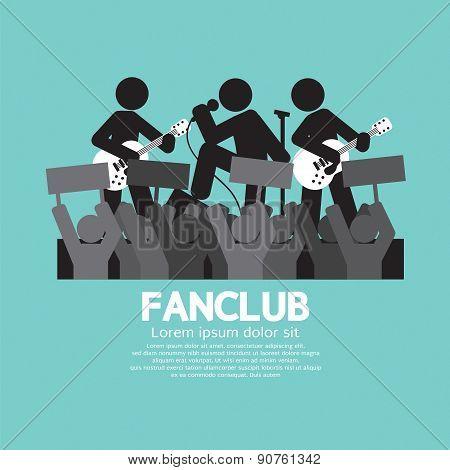 Fan Club The Big Fan Of The Band.