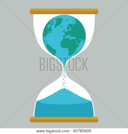 Earth hourglass
