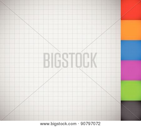 Grid mesh wireframe background-pattern set. (seamlessly repeatable geometry) poster