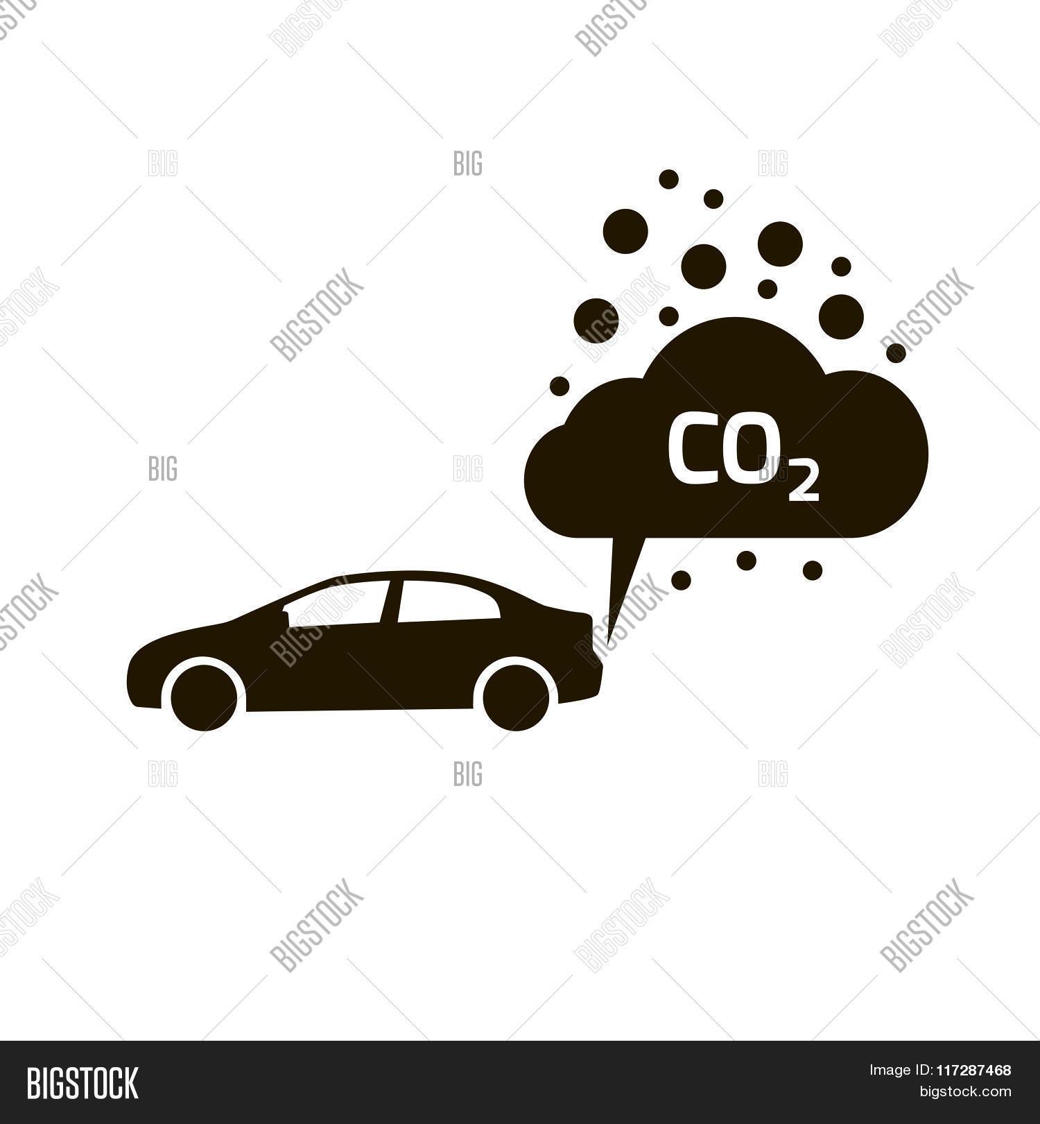 Co2 emissions icon cloud vector vector photo bigstock co2 emissions icon cloud vector flat carbon dioxide emits symbol buycottarizona Images