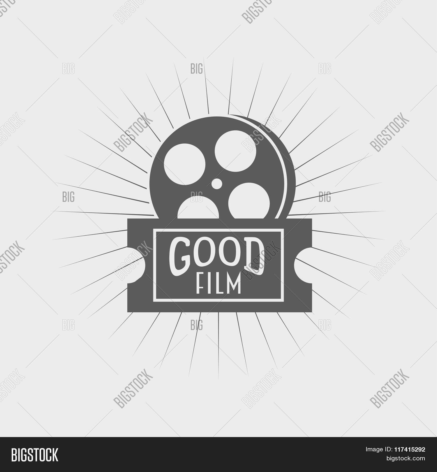 Film Reel Ticket Icon Vector & Photo (Free Trial) | Bigstock