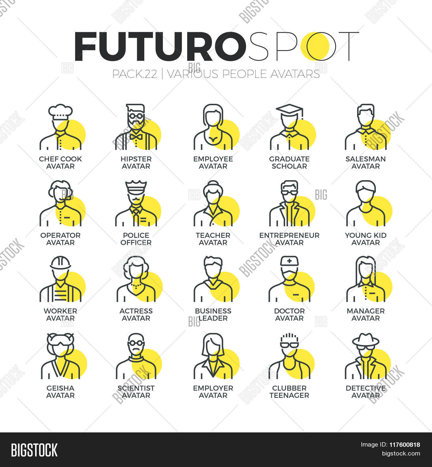 Human Avatars Futuro Vector & Photo (Free Trial) | Bigstock