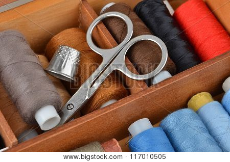 Retro Sewing Kit