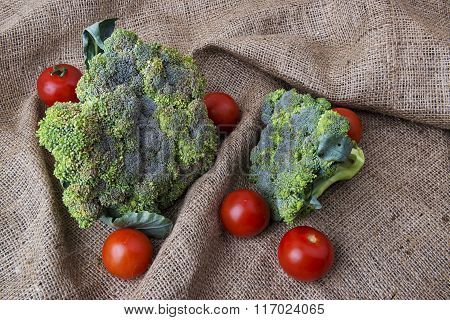 Broccoli And Tomatoes