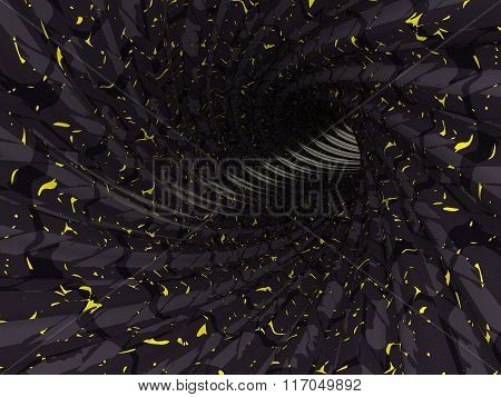 Abstract Tunnel, 3D