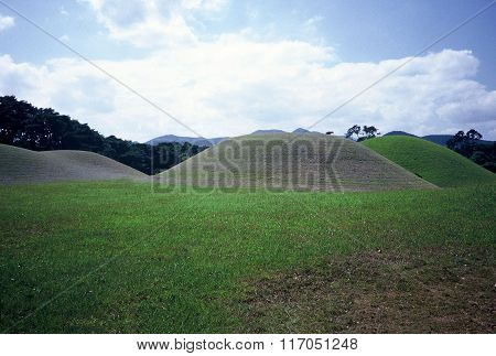 Ancient Burial Mounds of the Silla Dynasty