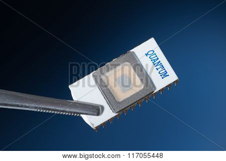 Quantum processor poster