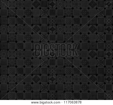 Black and grey subtle pattern design