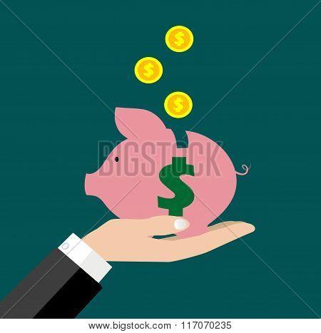 Saving Money Bank