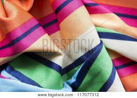 Draped Silk Closeup