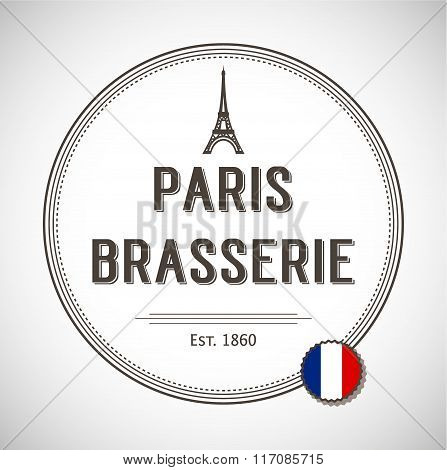 Brasserie Paris Badge