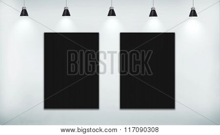 Two Black Poster
