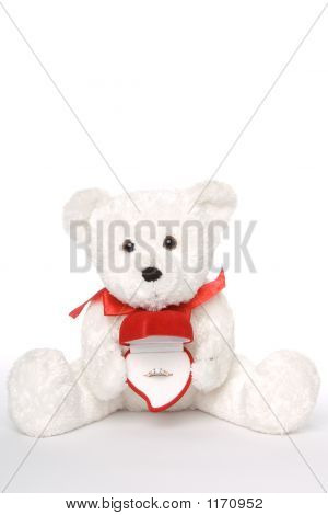 Bear Holding Engagement Ring 004