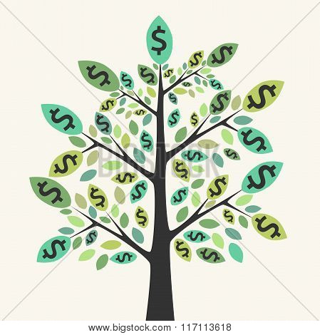 Money Tree, Success Concept