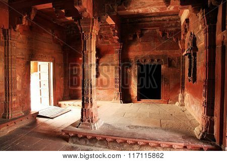 Fatehpur Sikri, India, built by the great Mughal emperor, Akbar beginning in 1570