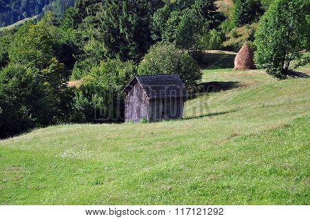 Old Wooden Barrack