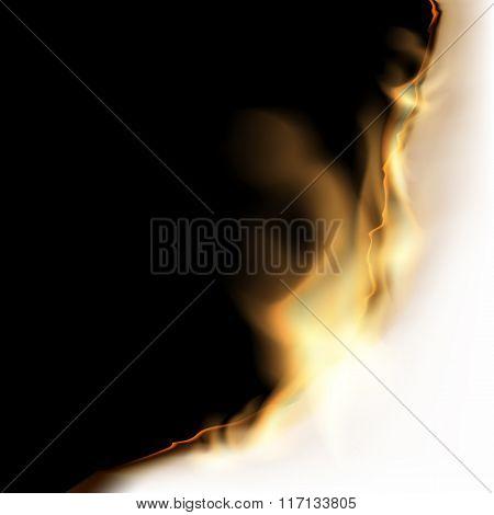 Burning White Sheet