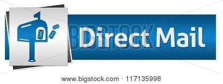 Direct Mail Blue Grey Horizontal